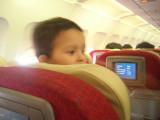 Aboard Kingfisher flight to Chennai