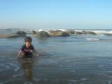 Wading at Fisherman's Cove