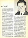 Hoff biography from a 1949 King Features catalog