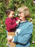 Rahil and Grandma