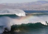 Rainbow and mist
