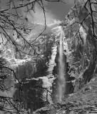 Icy Upper Yosemite Falls