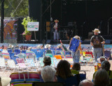 Joe Craven welcomes folks to Live Oak 2009