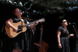 The Sweetback Sisters sing