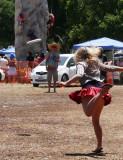 Frisbee fling