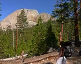 The back of Half Dome