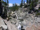 Yosemite Creek, just before the falls