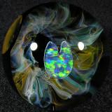 Artist: Jason Hills  Size: 1.45  Type: Lampworked Boro