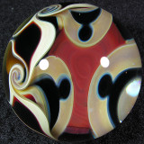 Artist: Nathan Miers  Size: 1.47  Type: Lampworked Boro