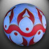 Artist: Brad Pearson  Size: 1.40  Type: Lampworked Soft Glass