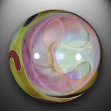 An imploded fumed C is the centerpiece on one side, with a carved and fumed C on the other.  C's it!