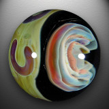 Artist: Mike Close  Size: 1.46  Type: Lampworked Boro