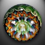 Artist: Josh Sable  Size: 1.36  Type: Lampworked Boro
