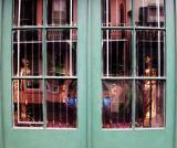 Antique-window, New Orleans