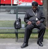 Bag, bud, bench -  nap, New Orleans