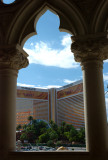 View of the Mirage Hotel from the Venetian