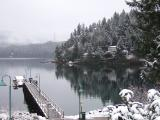 Deep Cove in snow