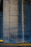 Shadows on the pillars of Tranebergsbron