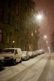 Friday night snowstorm
