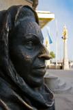 The statue of Margareta Krook