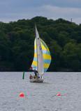 Sailing away on Riddarfjäden