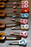 Guitars and ukuleles