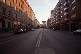 Empty summer streets