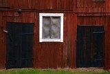 Barn window and doors