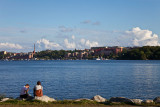 Resting by Lake Mälaren