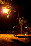 What happens in the playground at night?