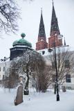 Gustavianum och Domkyrkan