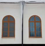 Windows with icicle