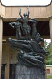 Resurrection monument by Johan Lundqvist