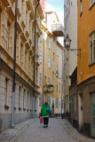 In the narrow streets of Old Town