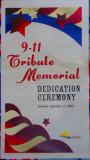9-11 Memorial Dedication