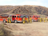 Rancho IC  (Brush Fire Drill)  6-29-2010