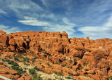 Fiery Furnace is named for the color of the fins when the sun goes down.
