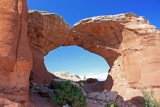 Broken Arch with Bob--this was a medium-sized arch