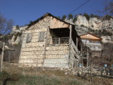 Another old stone house in Camliyayla.  The fortress is on the left.