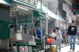 a street facing chinese cafe