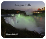 Niagara Falls at Dusk