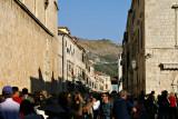 Dubrovnik - crowds on Stradun