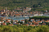 Hvar - view of Stari Grad from Glavica
