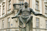 Osijek - Picasso statue