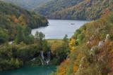Milanovac waterfall and Lake Kozjak