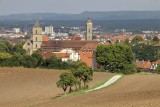 Bamberg - from the path to Altenburg