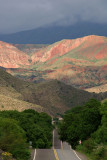 Road from Salta to Cachi