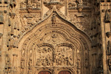 Salamanca - west door of the New Cathedral