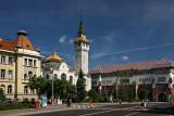 Târgu Mureş (Marosvásárhely) - old Town Hall and Palace of Culture