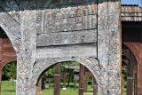 Székely gate at the grave of Balázs Orbán, Szejke Fürdő